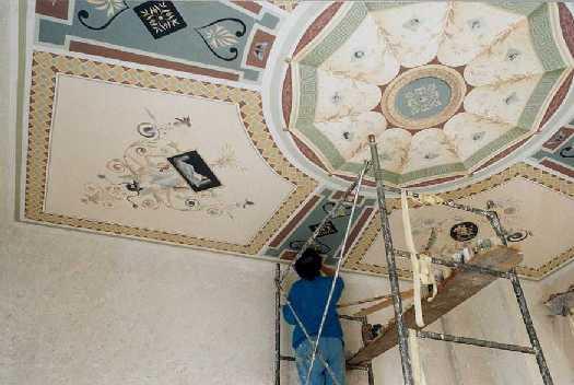 Mural painting - Fresco - Drawings - Trompe lOeil - Decoration in ...